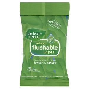 Jackson Reece flushable wipes
