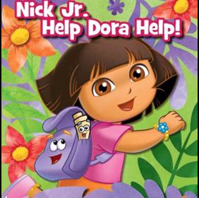 Help Dora Help Nick Jr