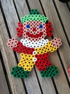 Shaun's Hama Beads Clown