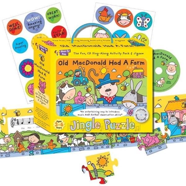 Old MacDonald Had a Farm Sing-Along Activity Pack