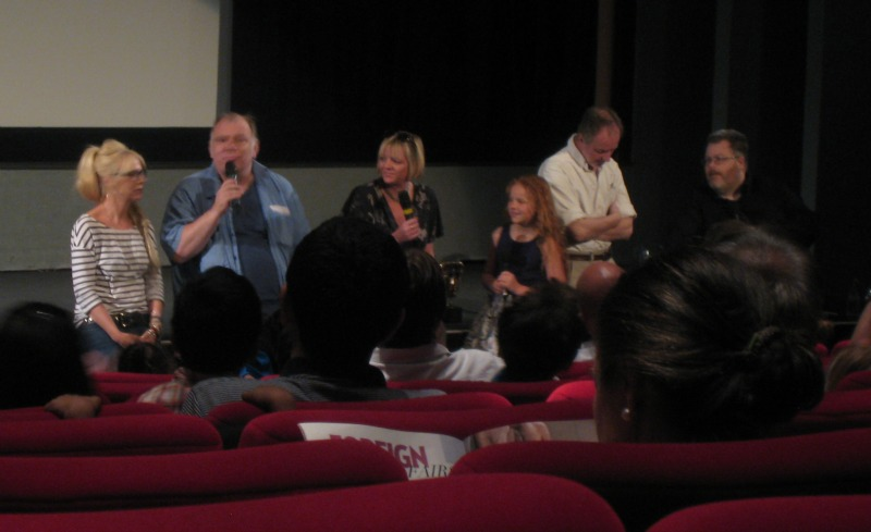 Morwenna Banks, Richard Ridings, Sarah Ann Kennedy, Harley Bird and John Sparkes - the voices of Peppa Pig (and Ben & Holly)