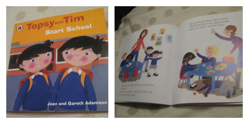 Topsy & Tim Start School - Jean and Gareth Adamson