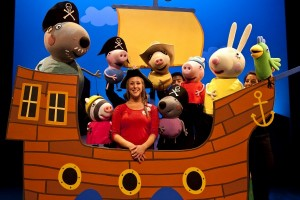 Peppa Pig's Treasure Hunt live