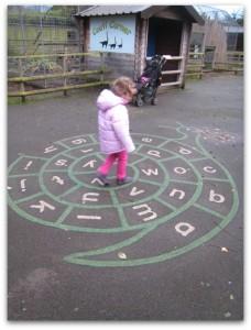 Battersea Park Children's Zoo play area