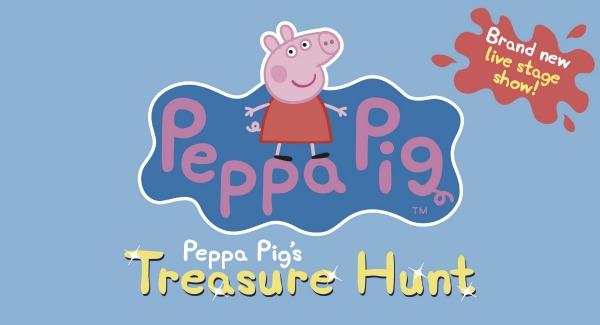 Peppa Pig's Treasure Hunt Logo