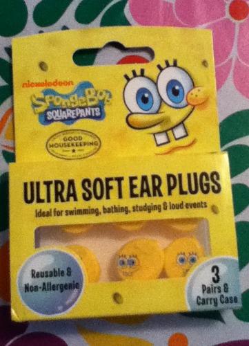 SpongeBob Earplugs