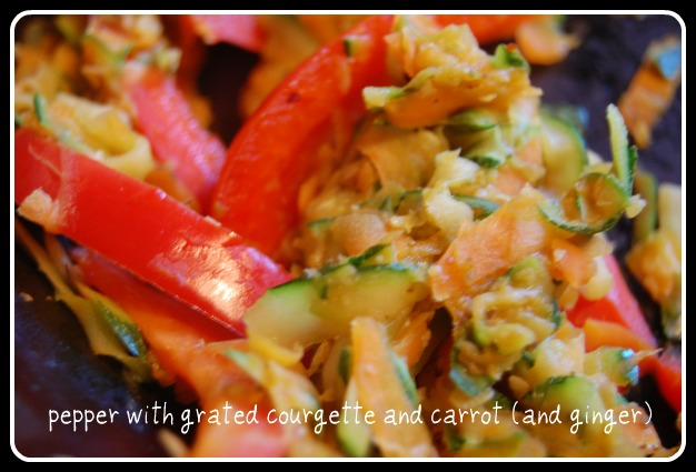 Pepper, Carrot and Courgette