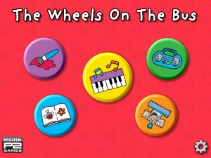 Wheels on the Bus Main Screen
