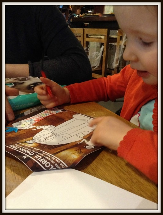 H colouring in