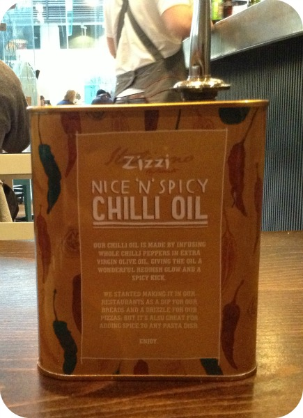 Zizzi Chilli Oil