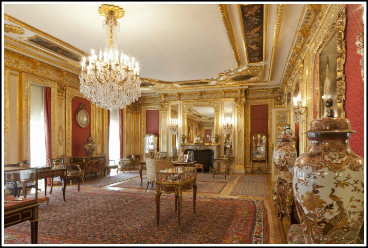 Polesden Lacey Gold Room Chandelier Cleaning - Mum Friendly