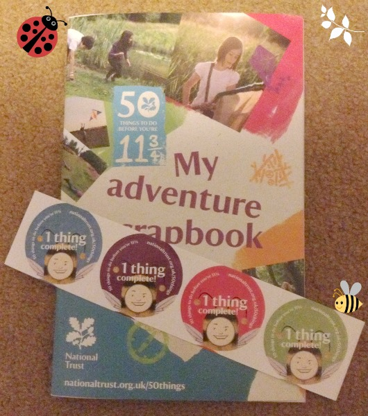 National Trust 50 Things Adventure Scrapbook