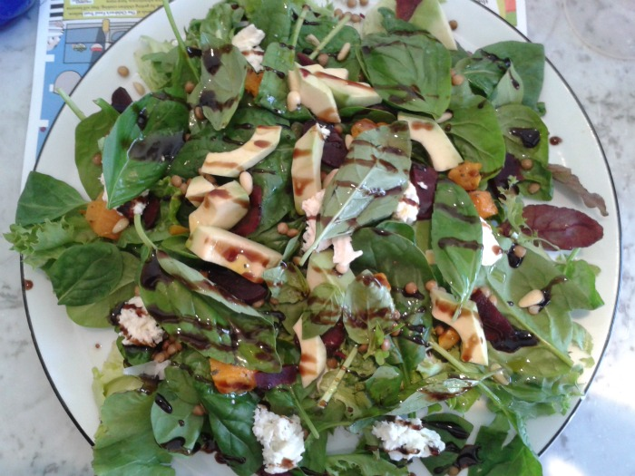 Pizza Express Low Calorie Salad