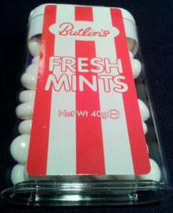 Butlins mints