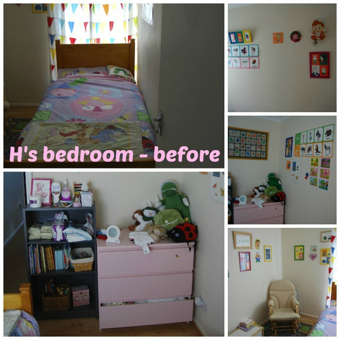 H's Bedroom - Before