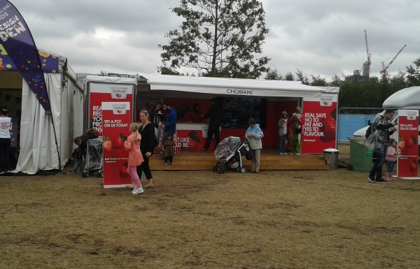 Chobani at Lollibop 2013