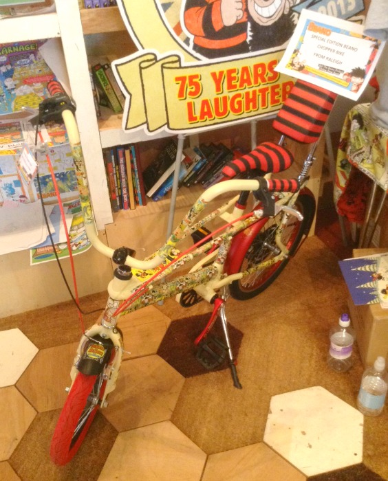 Beano Chopper Bike