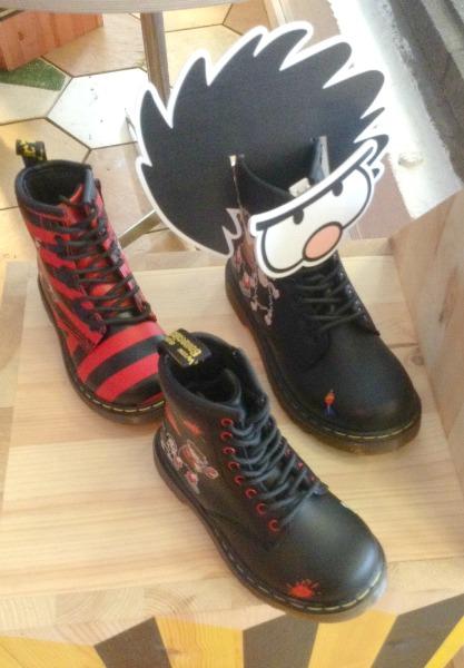 Beano Dr Marten Boots