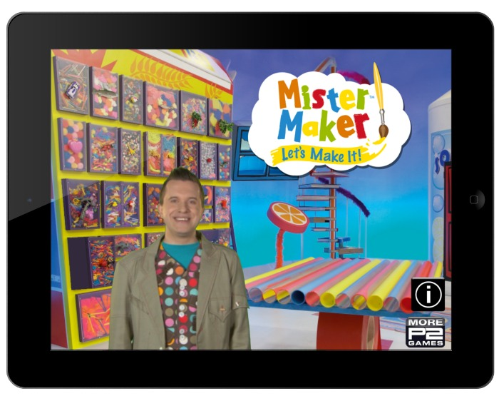Mister Maker Lets Make It Menu