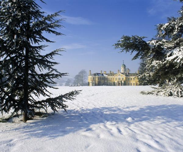 Polesden under snow ©National Trust Images Nick Meers