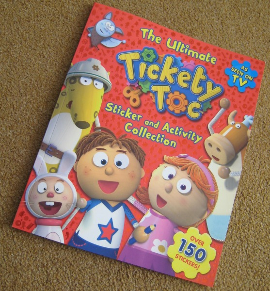 Ultimate Tickety Toc Sticker and Activity Collection