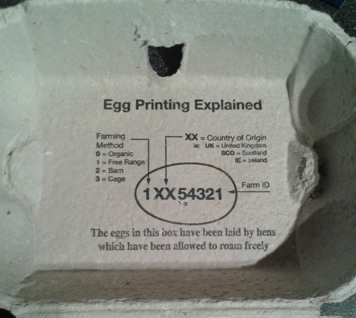 Egg Codes Explained