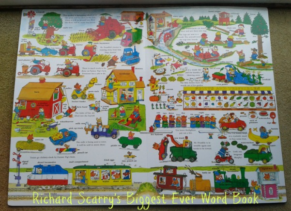 Richard Scarry's Biggest Ever Word Book