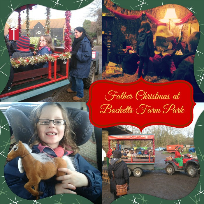 Bocketts Farm Father Christmas