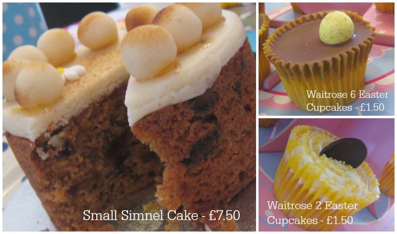 Waitrose Easter Cakes