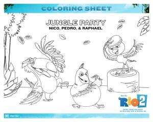 Rio 2 - Jungle Party