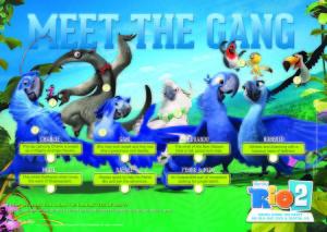 Rio 2 - Meet the Gang