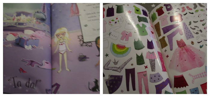 Glitterbelle sticker book