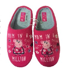 mummy pig gifts - slippers