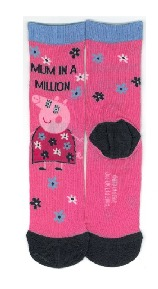 mummy pig gifts - socks