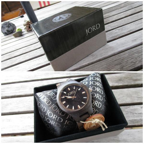 Jord Wood Watch packaging