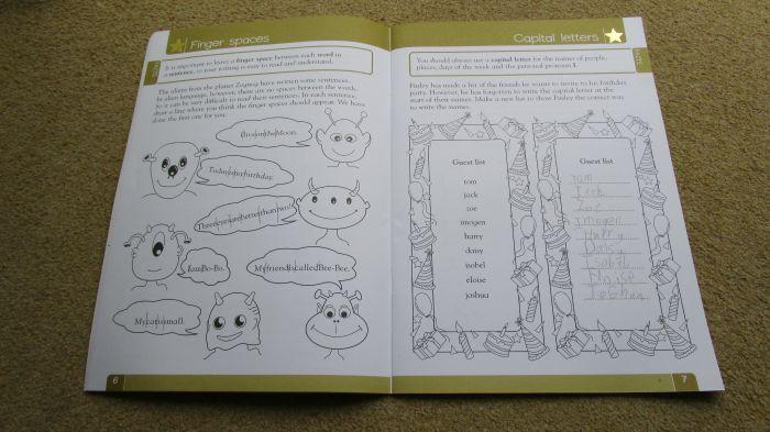 Carol Vorderman Workbook - Spelling punctuation and grammar made easy