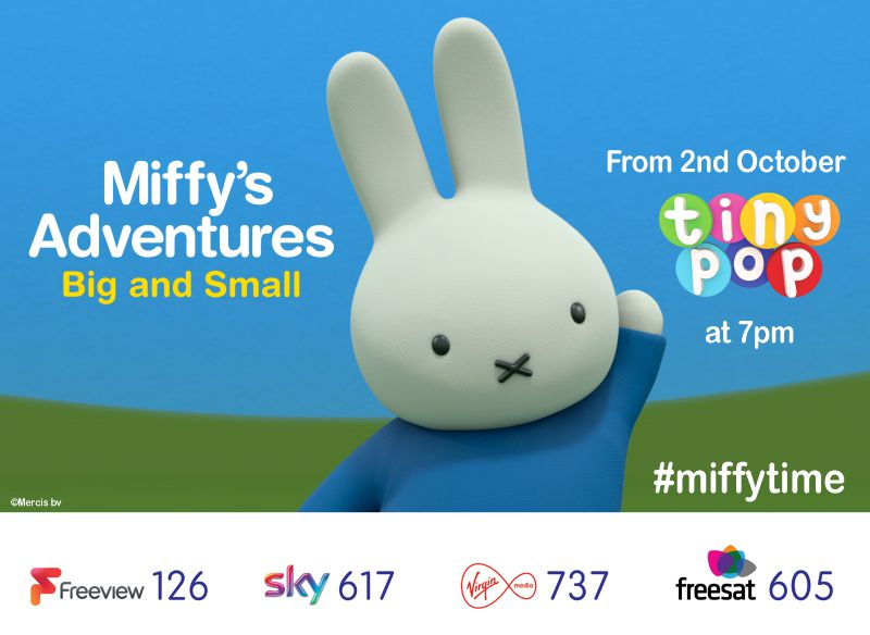 Miffy's Adventures Big and Small on Tiny Pop