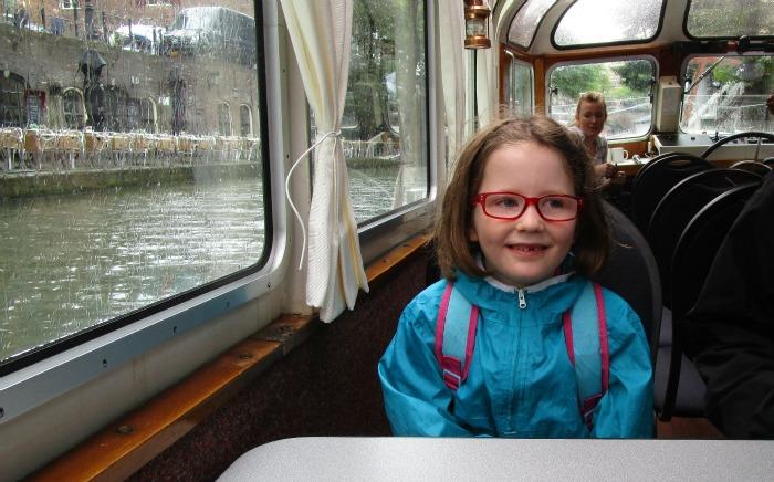 Utrecht canal boat trip