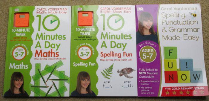 carol vorderman workbooks