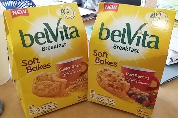 belVita Soft Bakes varieties