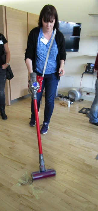 me trying a Dyson v6 out