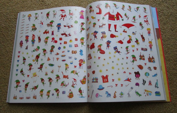 4000 Stickers Christmas Book stickers