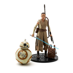 The Force Awakens Rey with Lightsaber