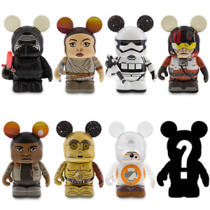 The Force Awakens Vinylmation figures