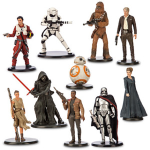 The Force Awakens deluxe figurines