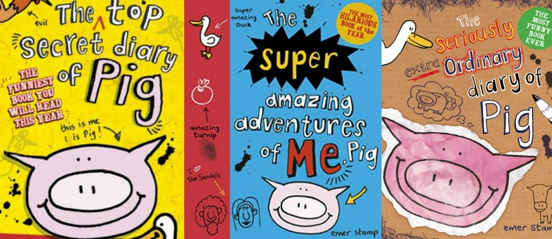 Pig Books Emer Stamp