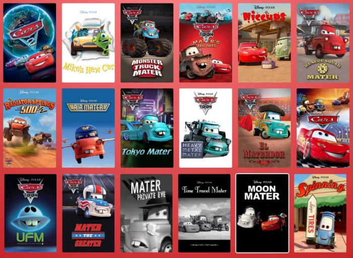 Cars related content at Disney Life