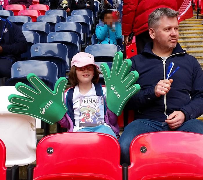 Wembley Stadium Women's FA Cup Final 2016 seats, Women's FA Cup Final 2016