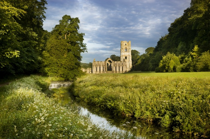 Fountains Abbey,  ©NT Images Andrew Butler