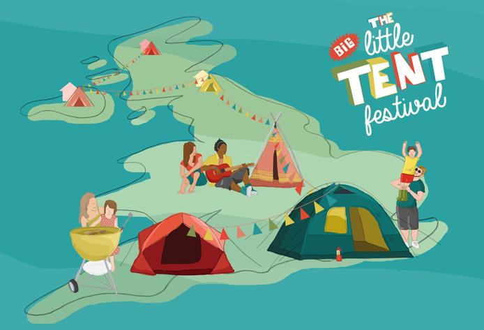 the big little tent festival logo